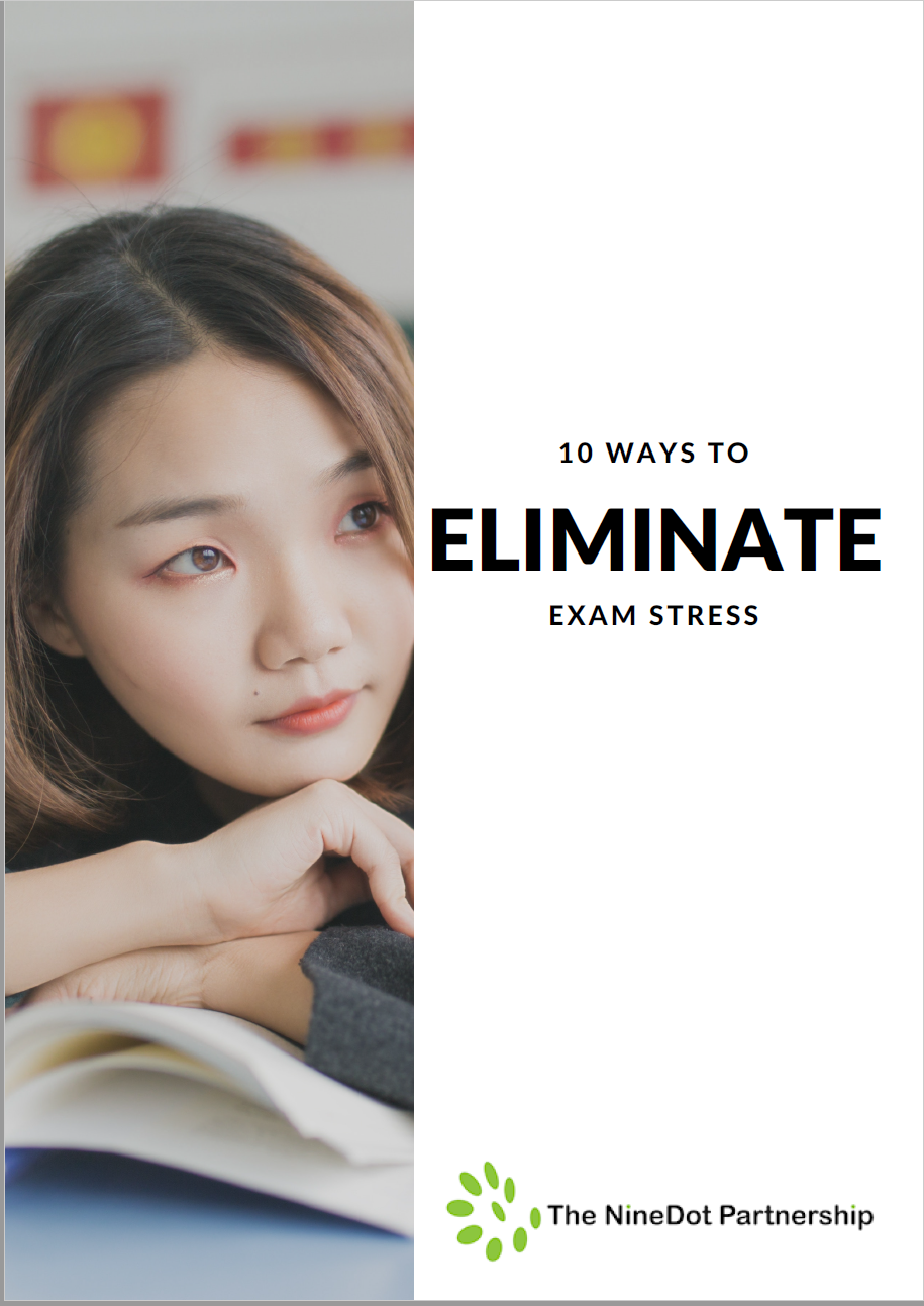 Eliminate Exam Stress ebook cover